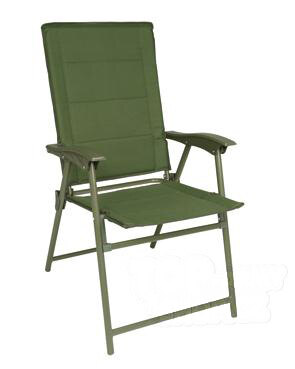 Skladacia stolička ARMY Mil-Tec® – Olive Green (Farba: Olive Green )