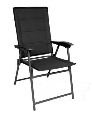 Skladacia stolička ARMY Mil-Tec® – Čierna (Farba: Čierna)