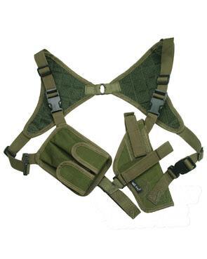 Podpažné pištoľové púzdro CORDURA ® Mil-Tec® - olív (Farba: Olive Green )
