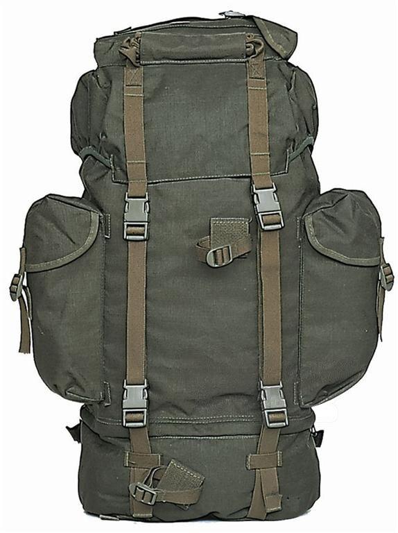 Batoh bojový BW Mil-Tec® - zelený (Farba: Zelená)