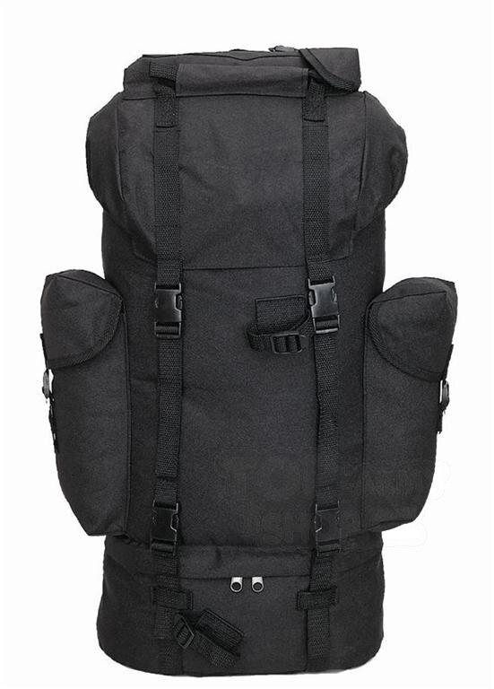 Batoh bojový BW Mil-Tec® - čierny (Farba: Čierna)