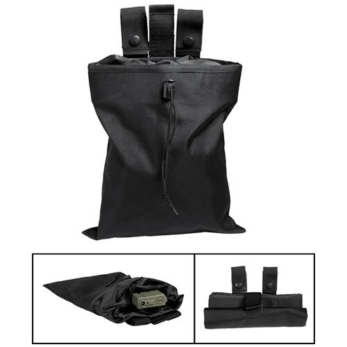 Sumka MOLLE - odhazovák na prázdne zásobníky Mil-Tec® - čierna (Farba: Čierna)