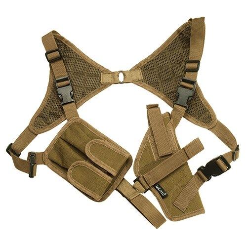 Podpažné pištoľové púzdro CORDURA ® Mil-Tec® - coyote (Farba: Coyote)