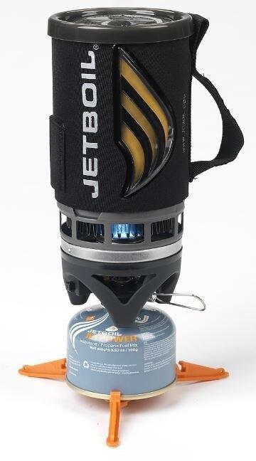 Plynový vařič JETBOIL® Flash - Carbon (Farba: Čierna, Varianta: Carbon)
