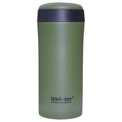 Nehrdzavejúca termoska Web-TEX® Ammo Pouch - zelená (Farba: Zelená)