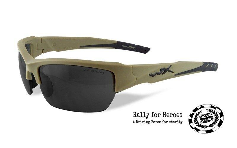 Slnečné okuliare Wiley X® Valor - rámček khaki, dymovo sivé šošovky, limitovaná edícia (Farba: Khaki, Šošovky: Dymovo sivé)