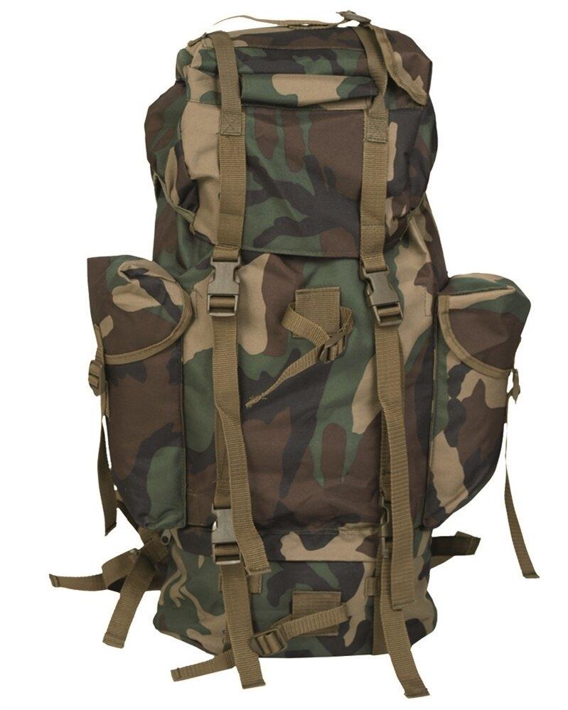 Batoh bojový BW Mil-Tec® - woodland (Farba: US woodland)
