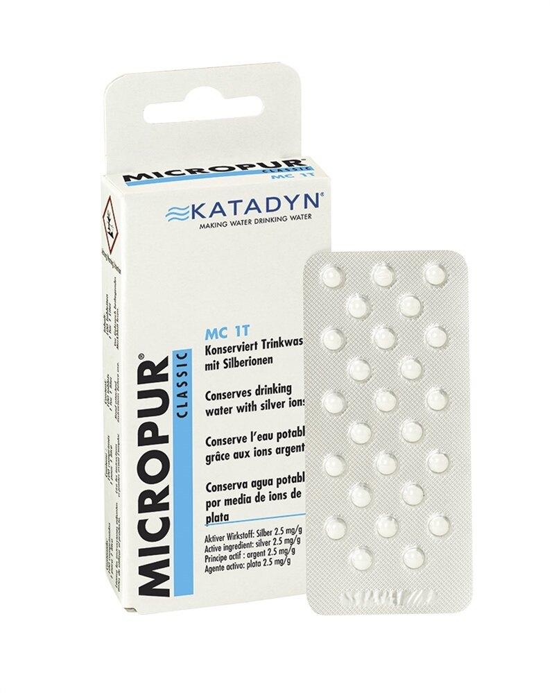 Tablety na čistenie vody KATADYN® Micropur Classic MC 1T 100 tb