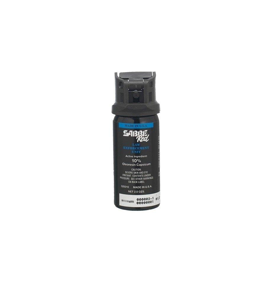 Obranný sprej SABRE® RED MK-3 rozprašovač - čierny
