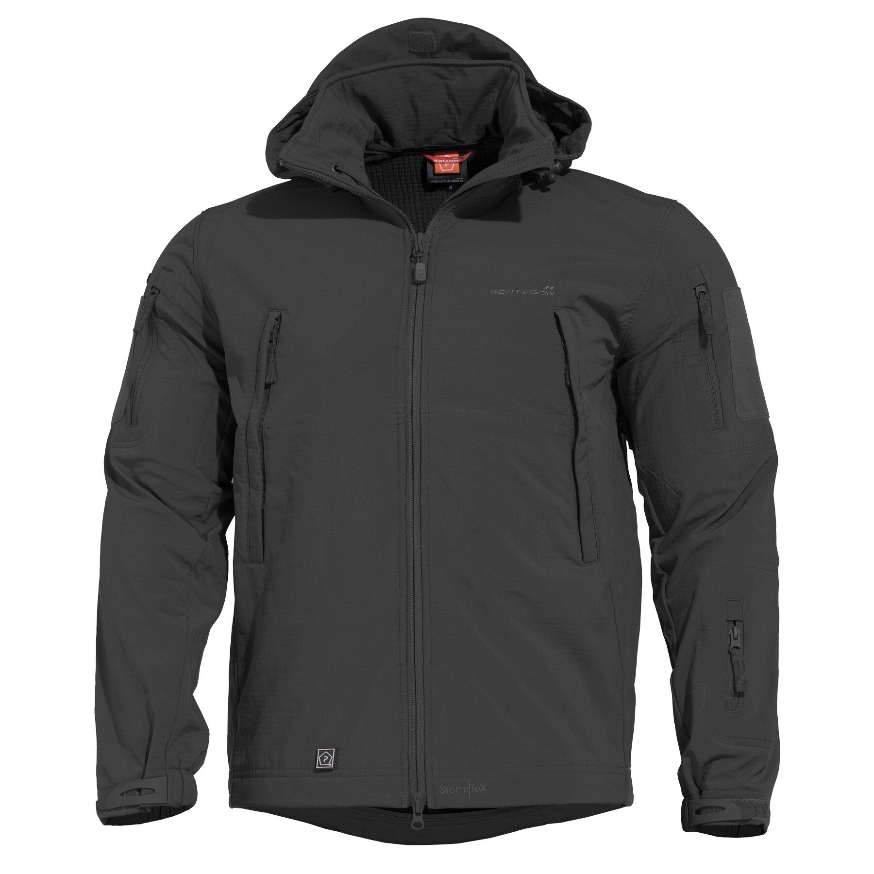 Taktická sofshellová bunda PENTAGON® ARTAXES SF Level IV - čierna (Farba: Čierna, Veľkosť: XXL)