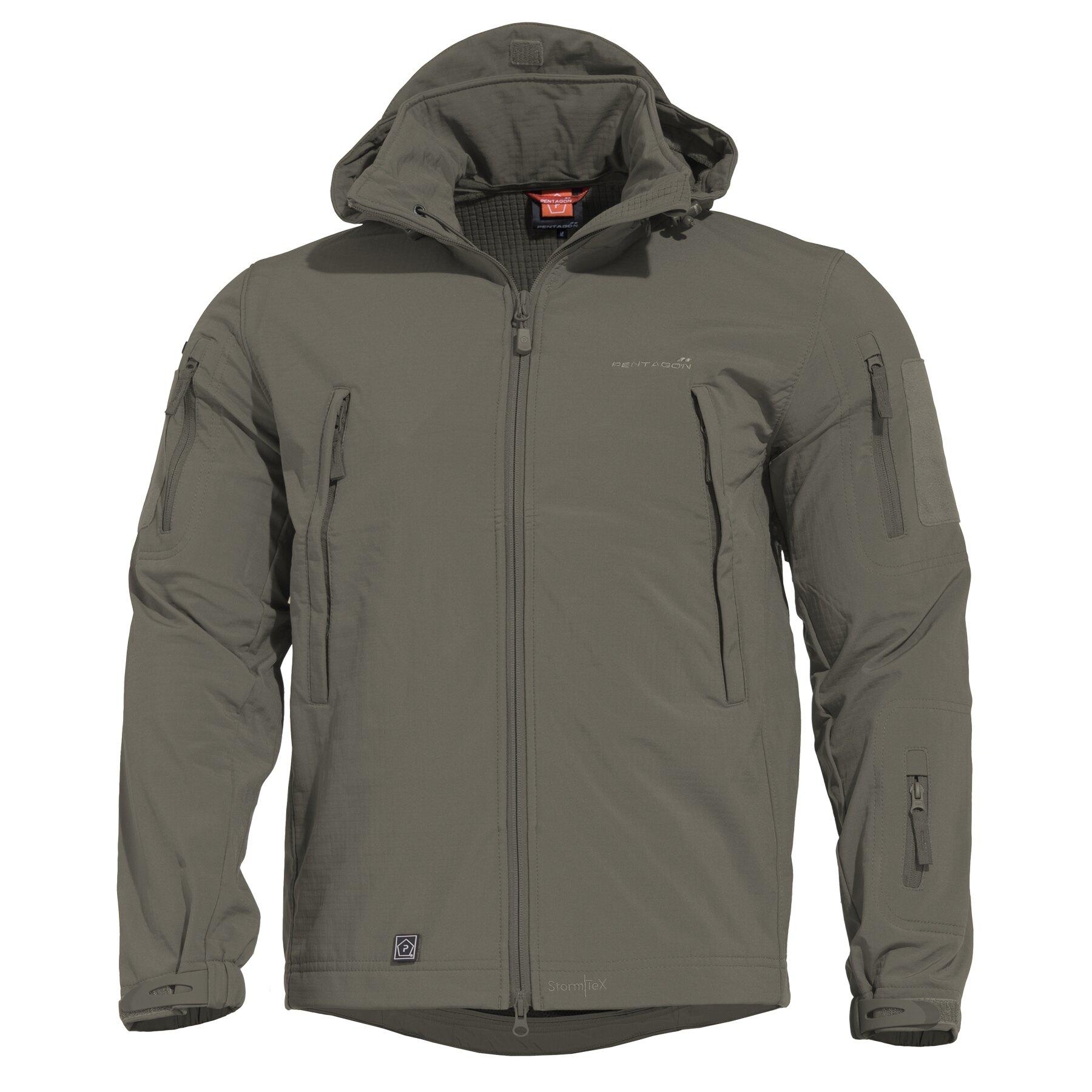 Taktická sofshellová bunda PENTAGON® ARTAXES SF Level IV – Grindle Green (Farba: Grindle Green, Veľkosť: S)