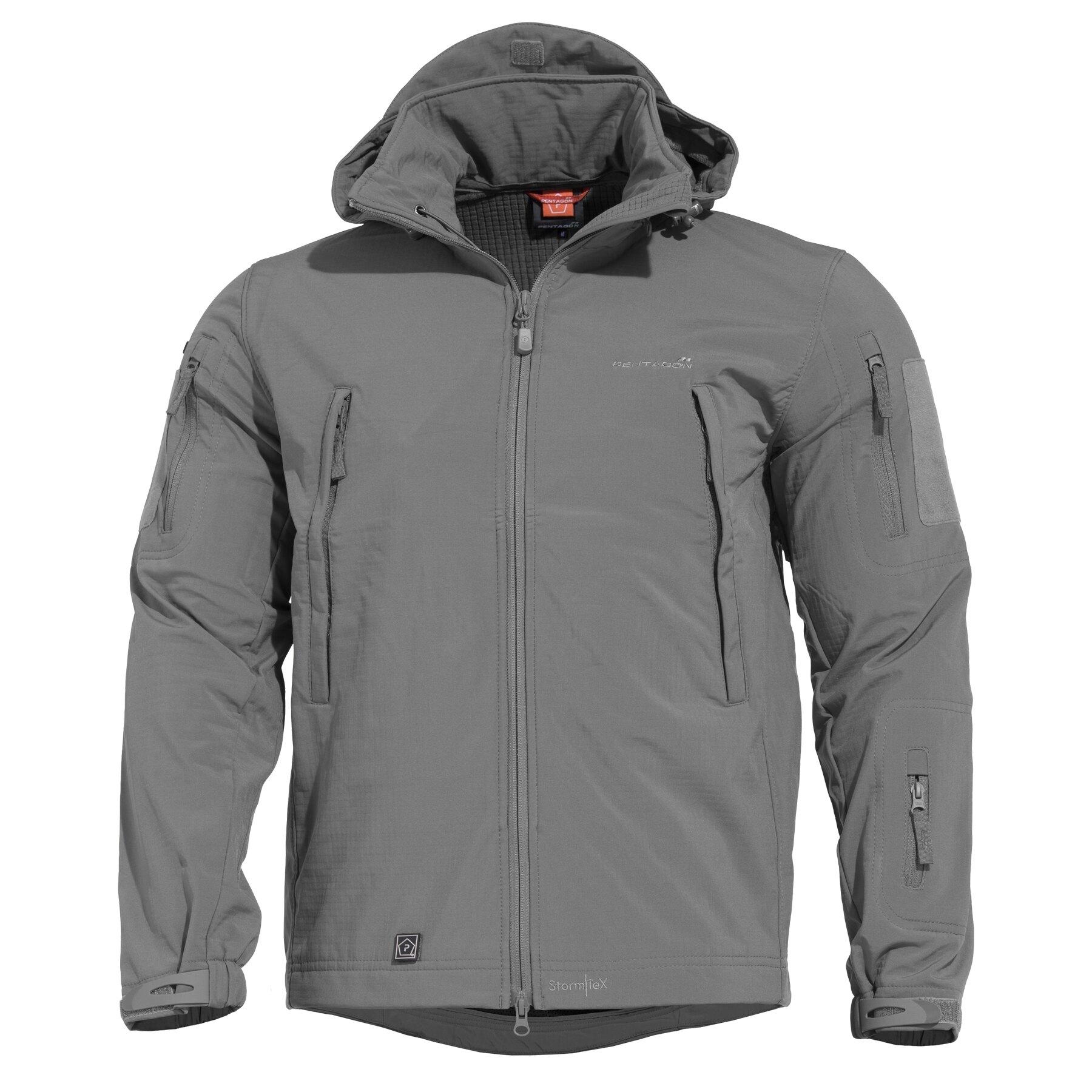 Taktická sofshellová bunda PENTAGON® ARTAXES SF Level IV – Wolf - Grey (Farba: Wolf Grey, Veľkosť: S)