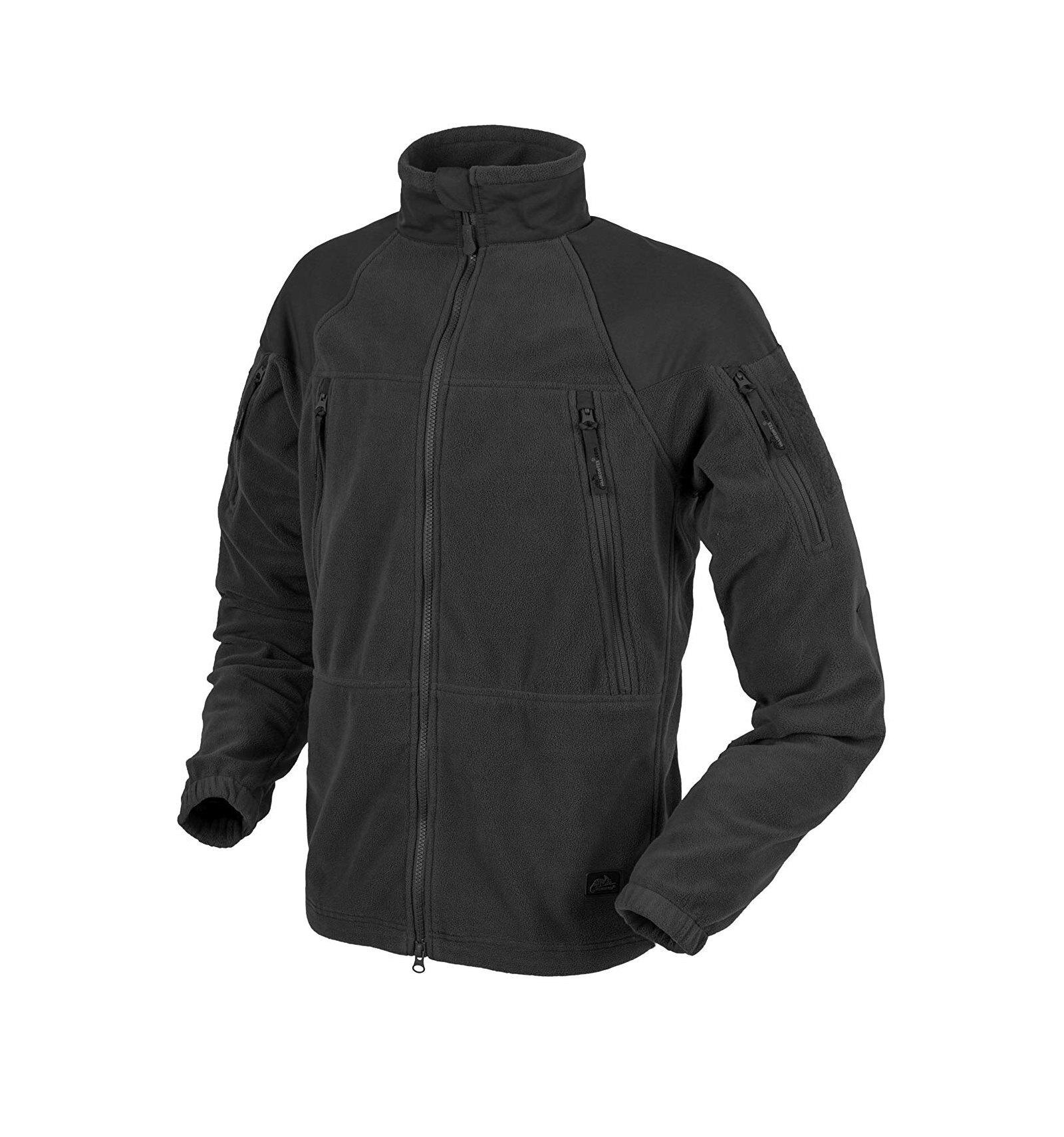 Fleecová mikina Helikon-Tex® Stratus® - čierna (Farba: Čierna, Veľkosť: XXL)