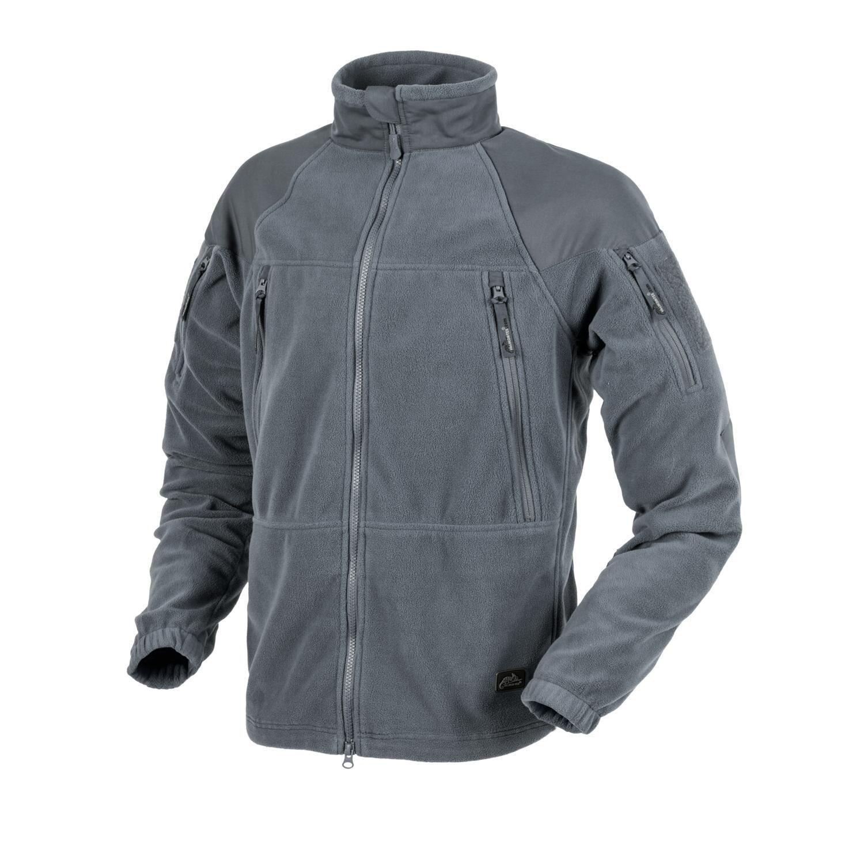 Fleecová mikina Helikon-Tex® Stratus® - šedá (Farba: Shadow Grey, Veľkosť: S)
