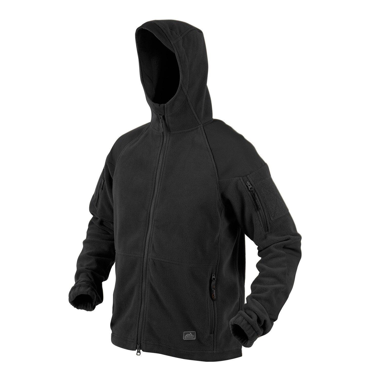 Fleecová mikina Helikon-Tex® Cumulus® - čierna (Farba: Čierna, Veľkosť: XL)