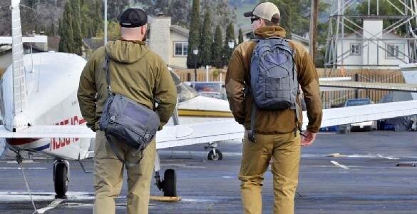 Taška cez rameno Helikon-Tex® Urban Courier Bag Medium® Cordura® - šedá (Farba: Shadow Grey (Helikon-Tex®))