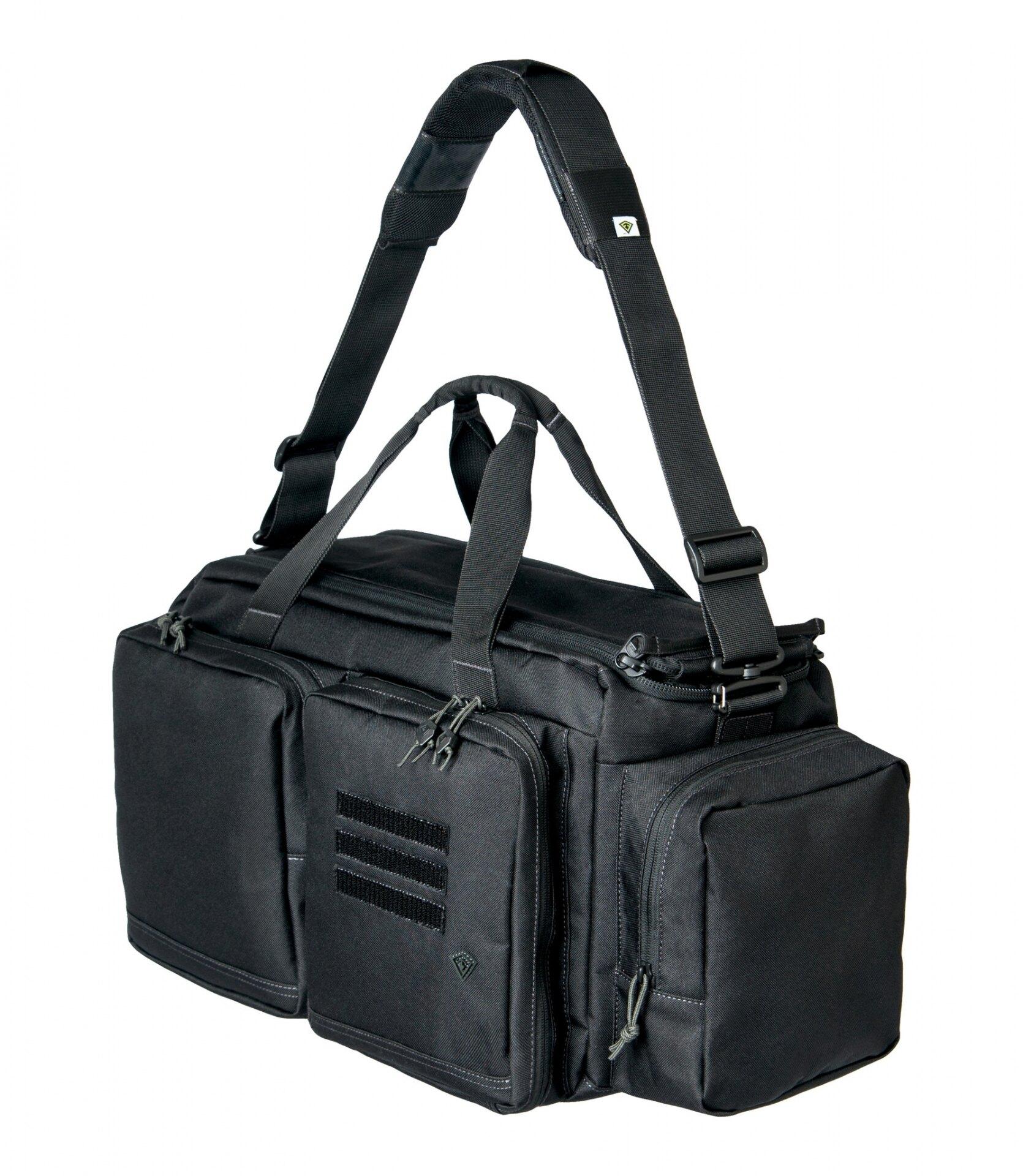 Strelecká taška First Tactical® Recoil Range - čierna (Farba: Čierna)