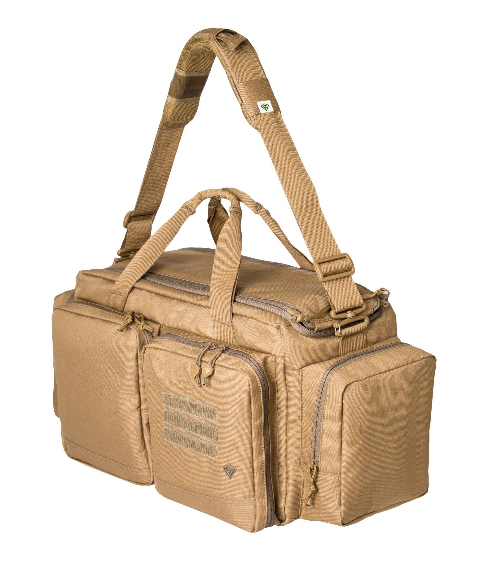 Strelecká taška First Tactical® Recoil Range - coyote (Farba: Coyote)