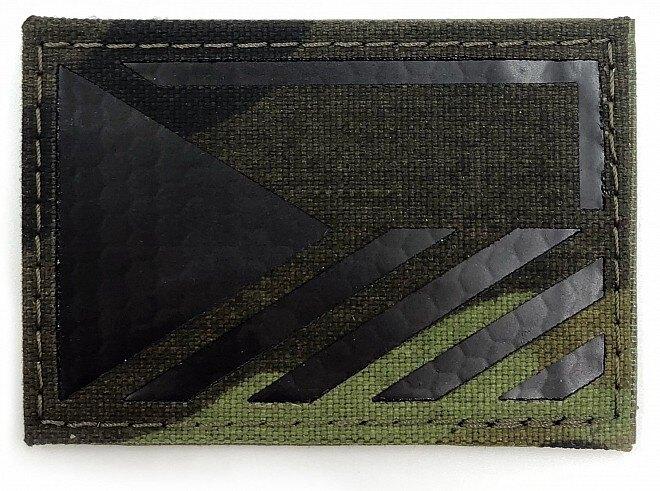 Vlajka ČR Combat Systems® rozlišovacia AČR IR - vzor 95, ľavý rukáv (Farba: Vzor 95 woodland, Varianta: levá strana)