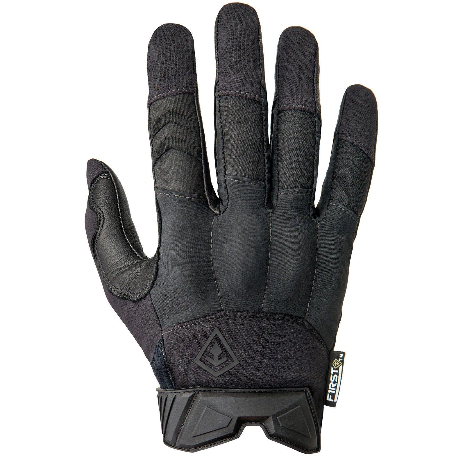 Strelecké rukavice First Tactical® Hard Knuckle - čierne (Veľkosť: M)