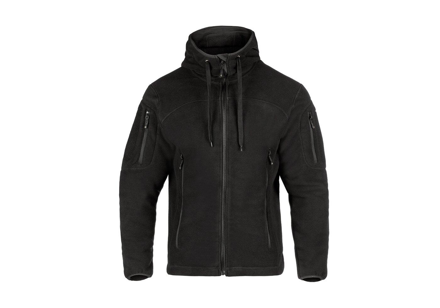 Fleecová bunda CLAWGEAR® Milvago Hoody MK II - čierna (Farba: Čierna, Veľkosť: XL)