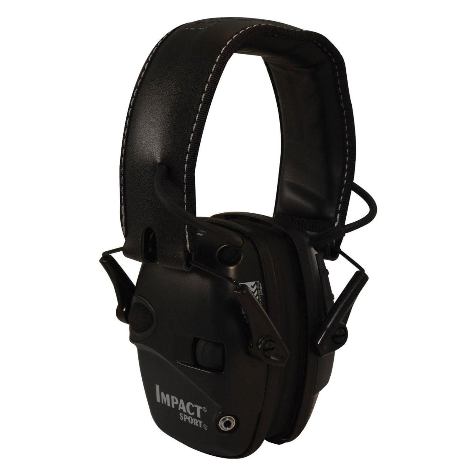 Elektronické slúchadlá Impact SPORT® Howard Leight Honeywell® - čierna (Farba: Čierna)