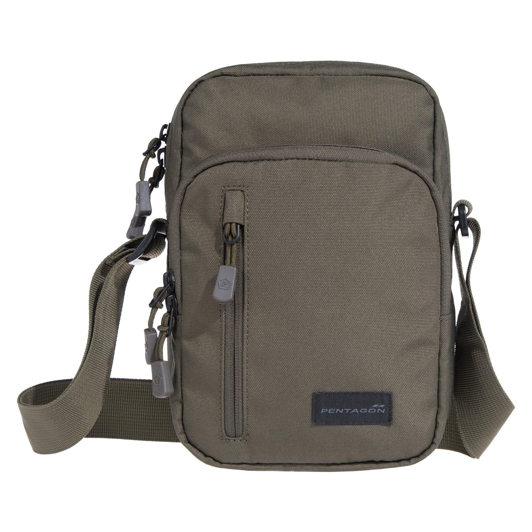 Taška cez rameno PENTAGON® Kleos Messenger - zelená (Farba: Olive Green )