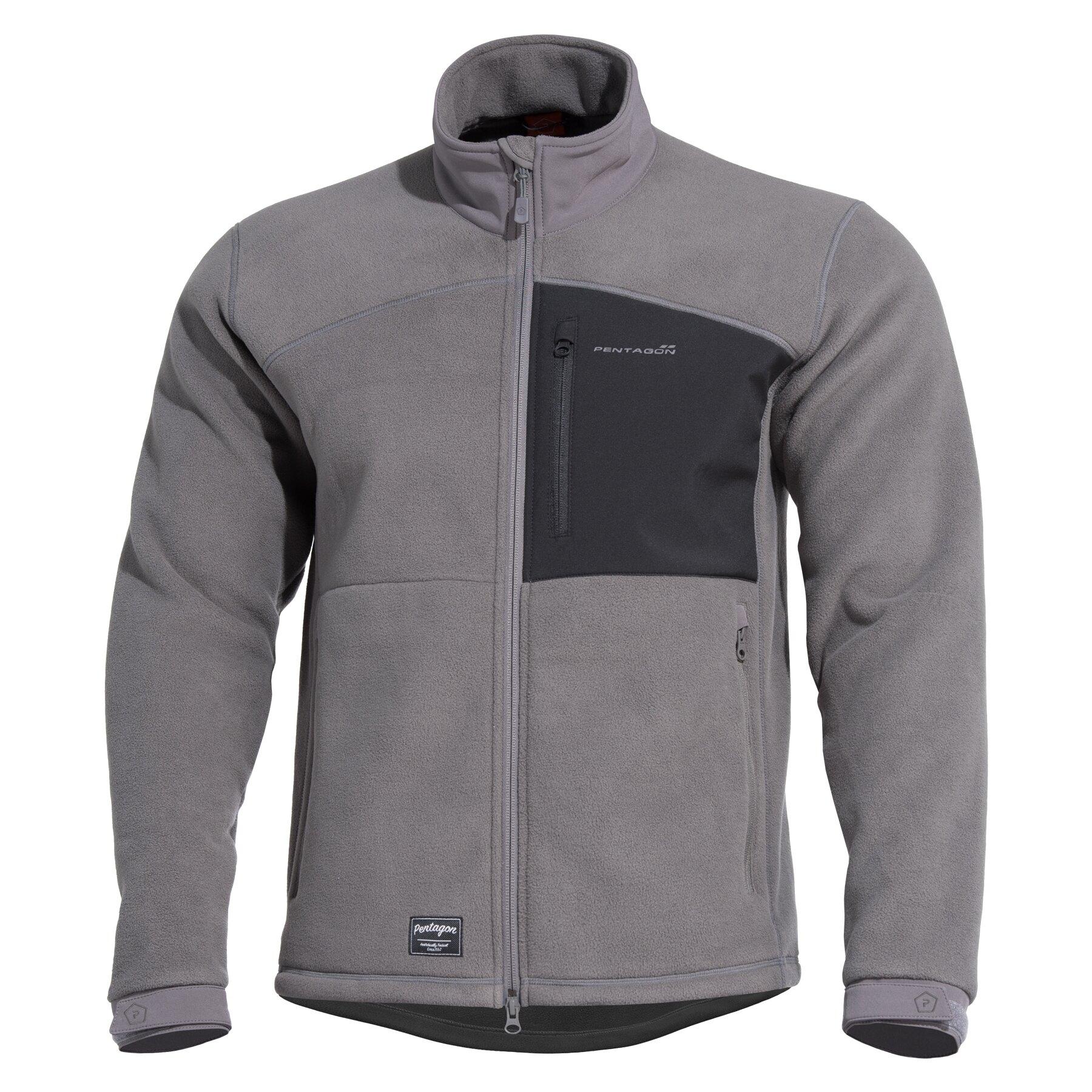 Fleecová mikina PENTAGON® Athos - Wolf Grey (Farba: Wolf Grey, Veľkosť: S)