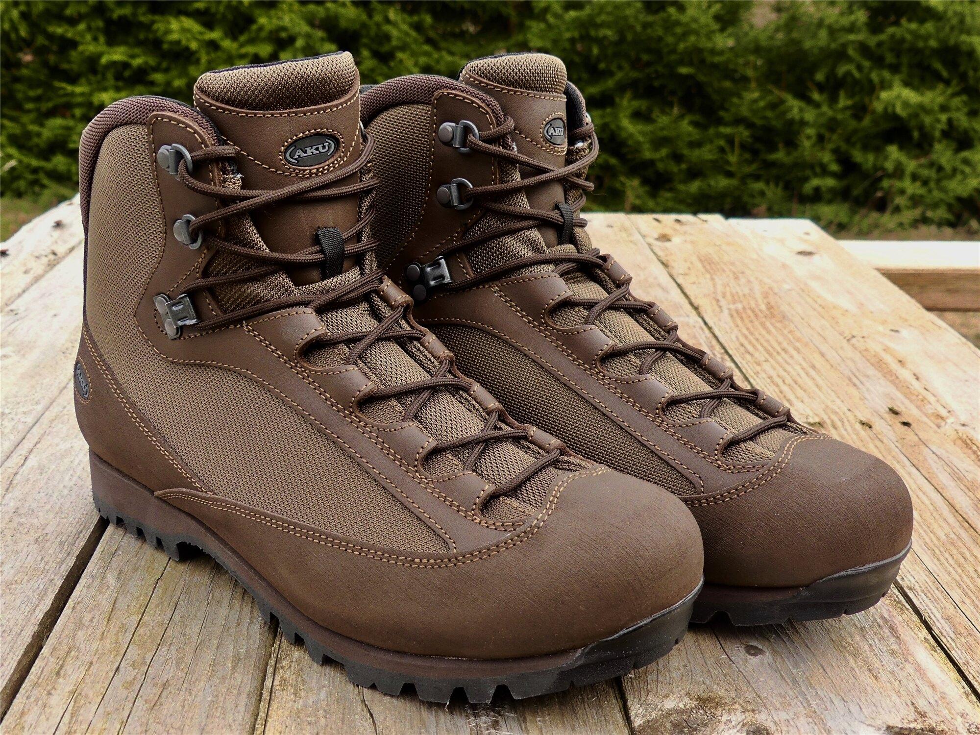 Topánky AKU Tactical® Pilgrim GTX® Combat FG M - hnedé (Farba: Hnedá, Veľkosť: 46 (EU))