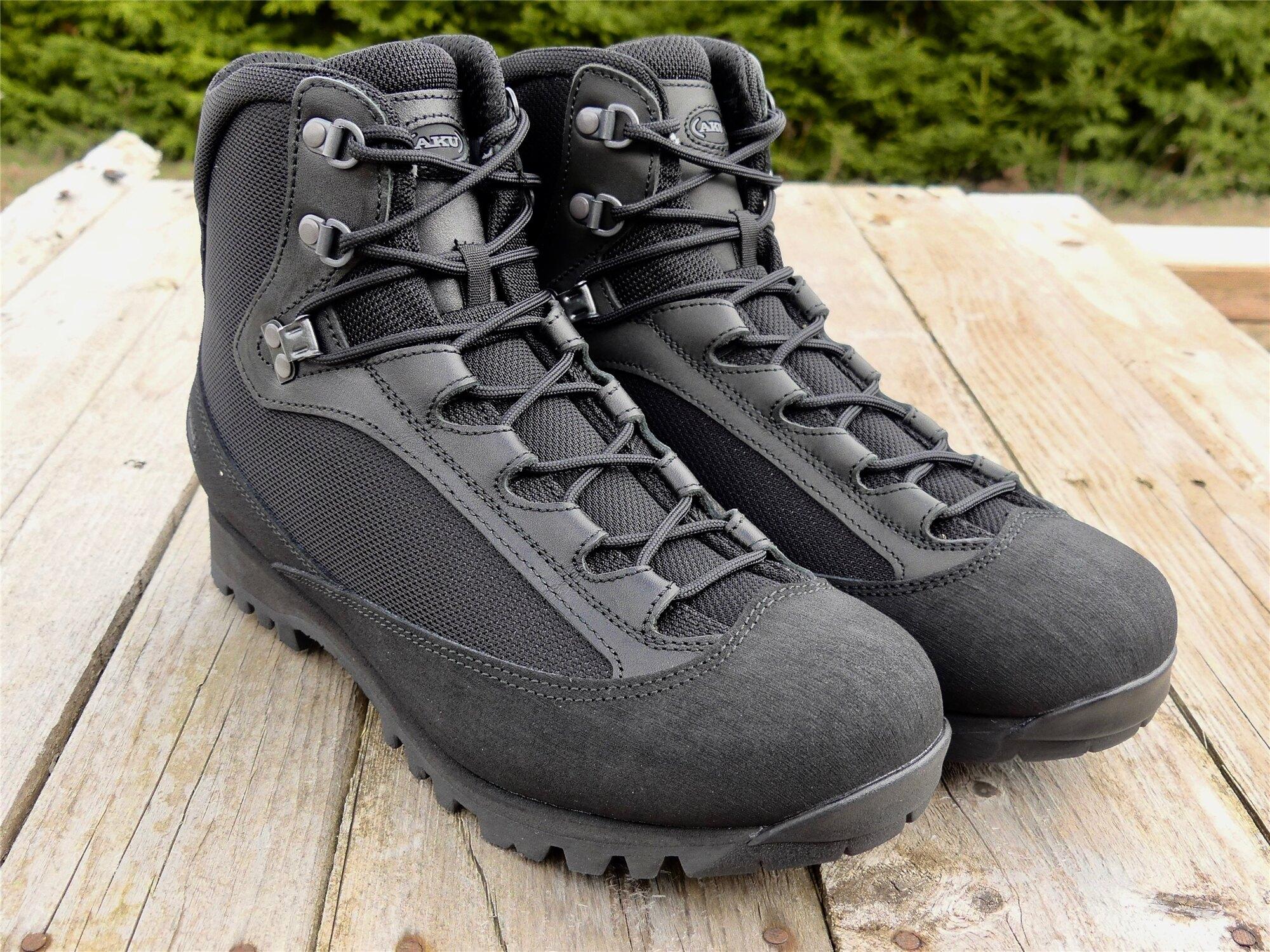 Topánky AKU Tactical® Pilgrim GTX® Combat FG M - čierne (Farba: Čierna, Veľkosť: 46 (EU))