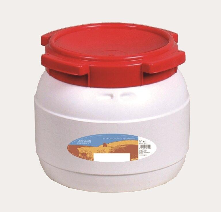 Vodotesný barel BasicNature® 10,4 l - biely
