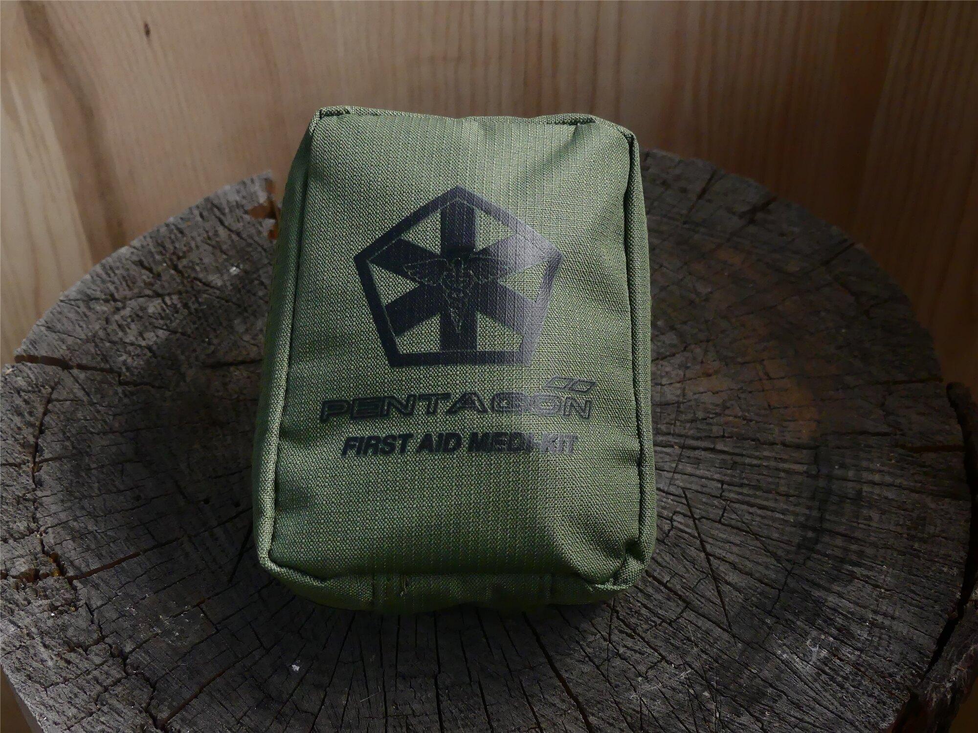 Lekárnička PENTAGON® Hippokrates Medikit - olivovo zelená (Farba: Olive Green )
