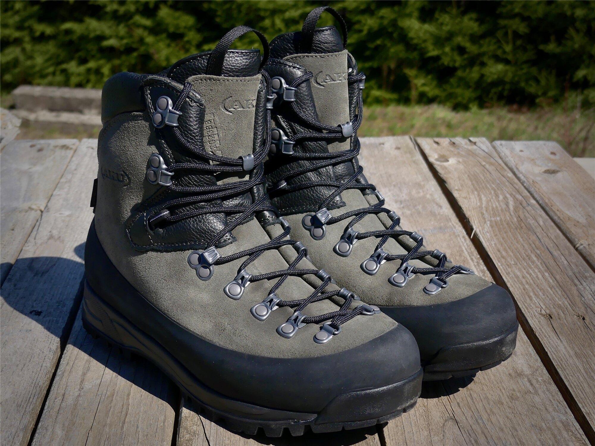 Topánky AKU Tactical® KS Schwer 14 GTX® N - dark grey (Veľkosť: 41 (EU))