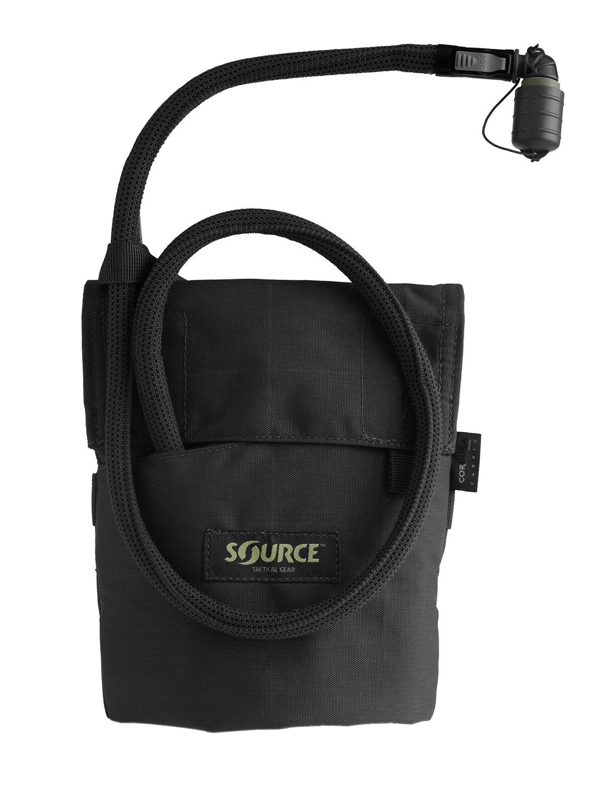Hydratačný systém SOURCE® Kangaroo 1 l - čierny (Farba: Čierna)