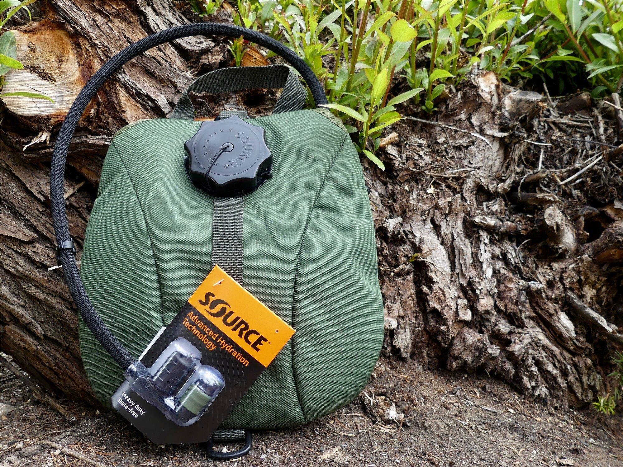 Hydratačný systém SOURCE® Military 2,5 l - Olive Green