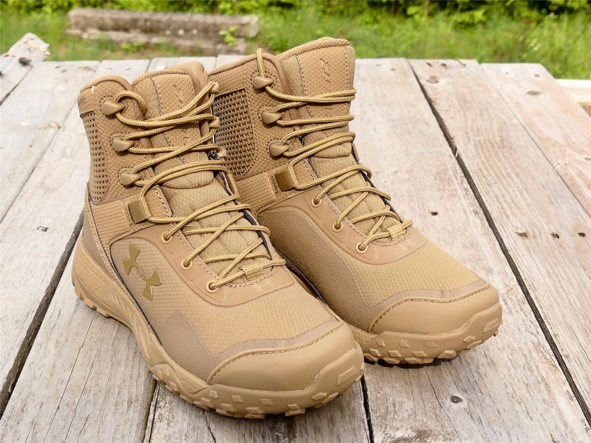 Dámske taktické topánky UNDER ARMOUR® Valsetz RTS 1.5 - Coyote Brown (Farba: Coyote, Veľkosť: 36.5 (EU))