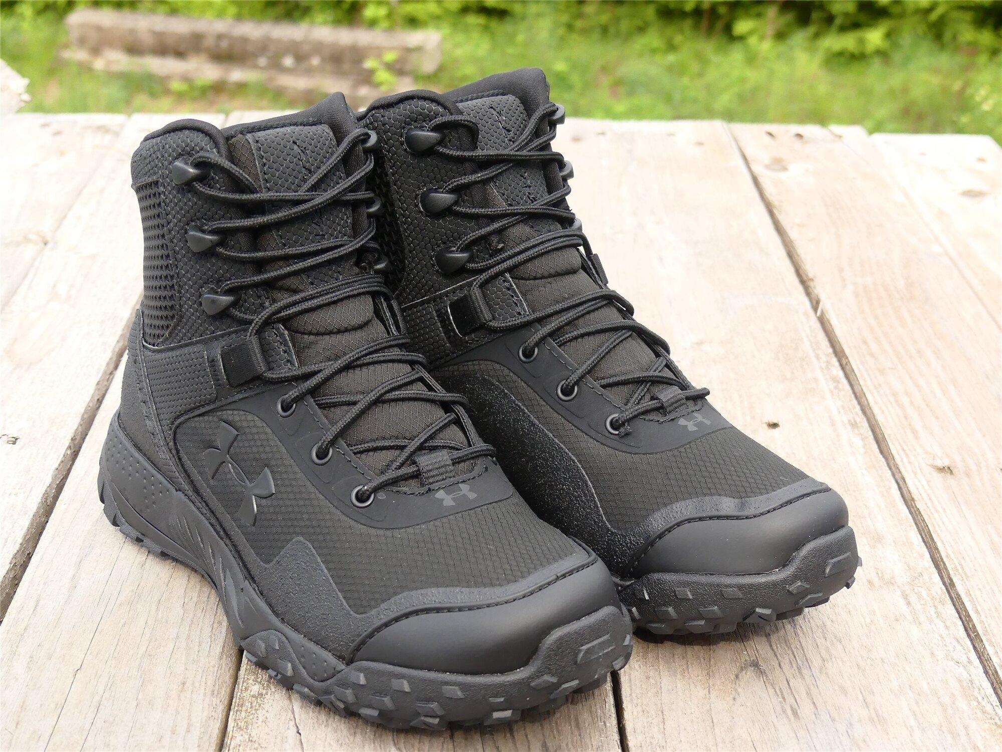 Dámske taktické topánky UNDER ARMOUR® Valsetz RTS 1.5 - Čierne (Farba: Čierna, Veľkosť: 40 (EU))