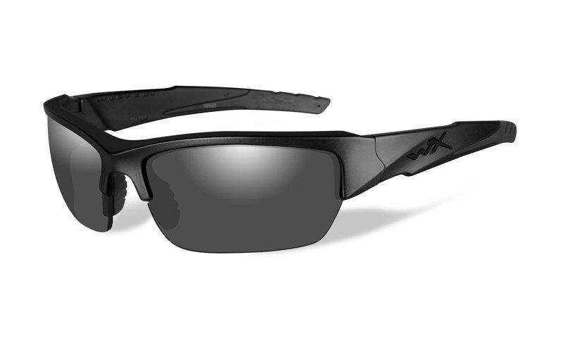 Slnečné okuliare Wiley X® Valor - rámček Kryptek Typhon™, dymovo sivé šošovky polarizované (Farba: Čierna, Šošovky: Dymovo sivé polarizované)