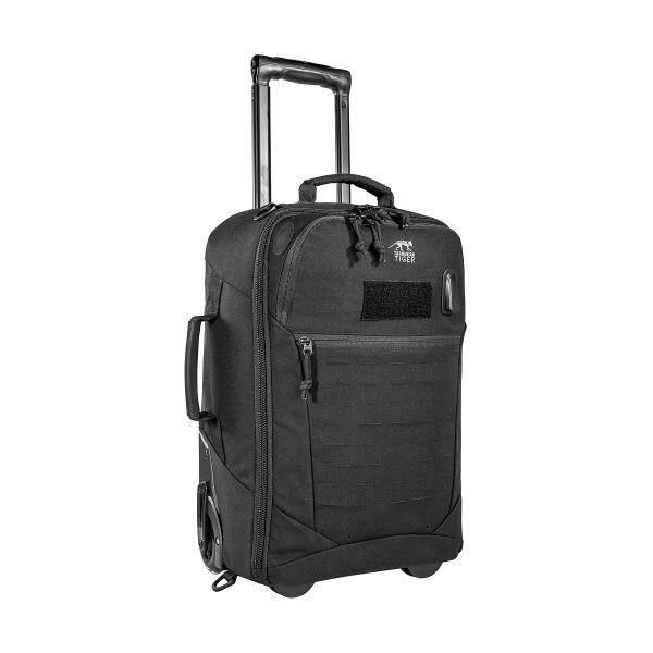 Cestovný kufor Roller SD Tasmanian Tiger® - čierny (Farba: Čierna)