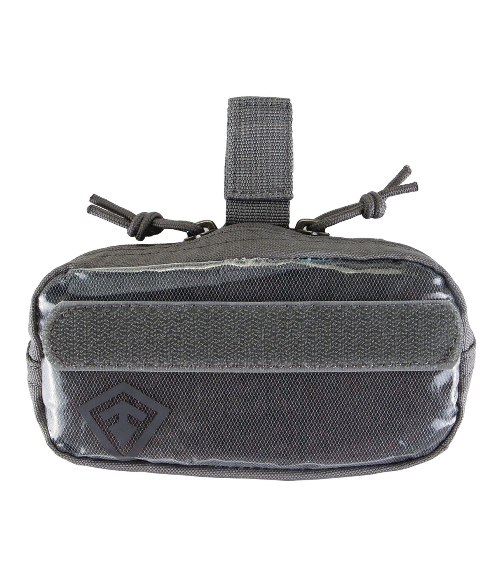 Puzdro Velcro 6x3 First Tactical® - sivé