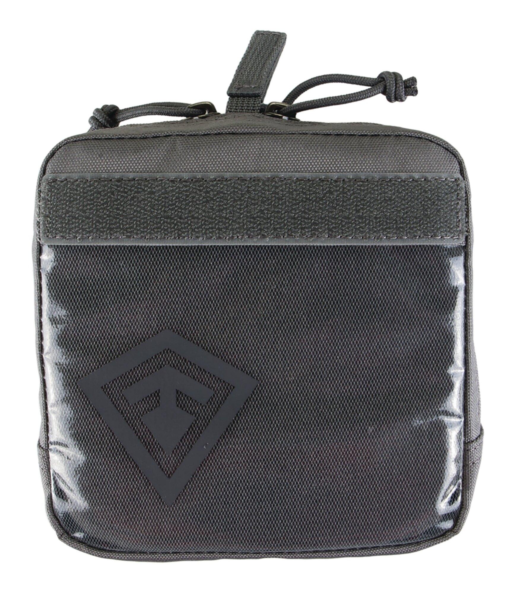 Puzdro Velcro 6x6 First Tactical® - sivé