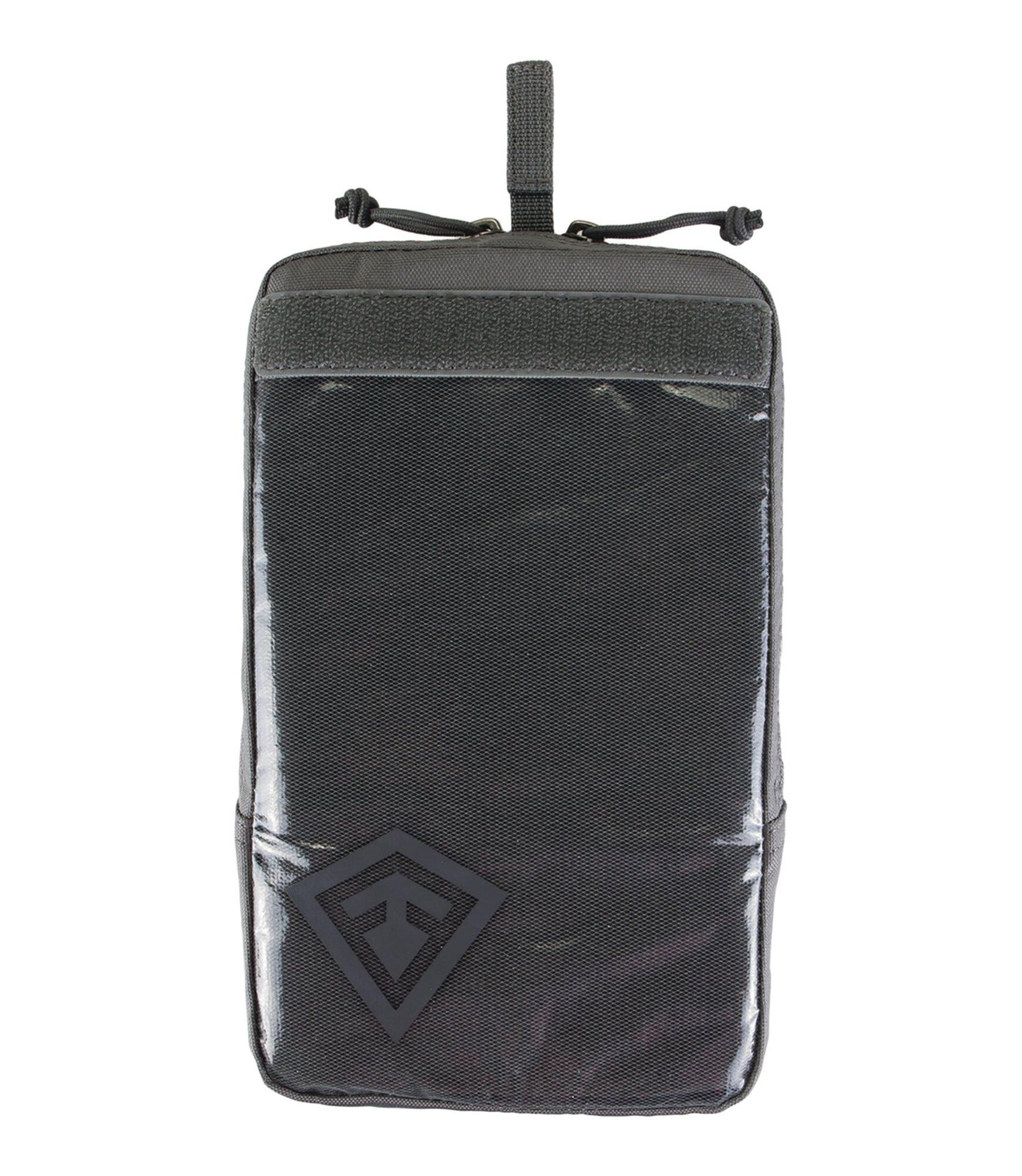 Puzdro Velcro 6x10 First Tactical® - sivé