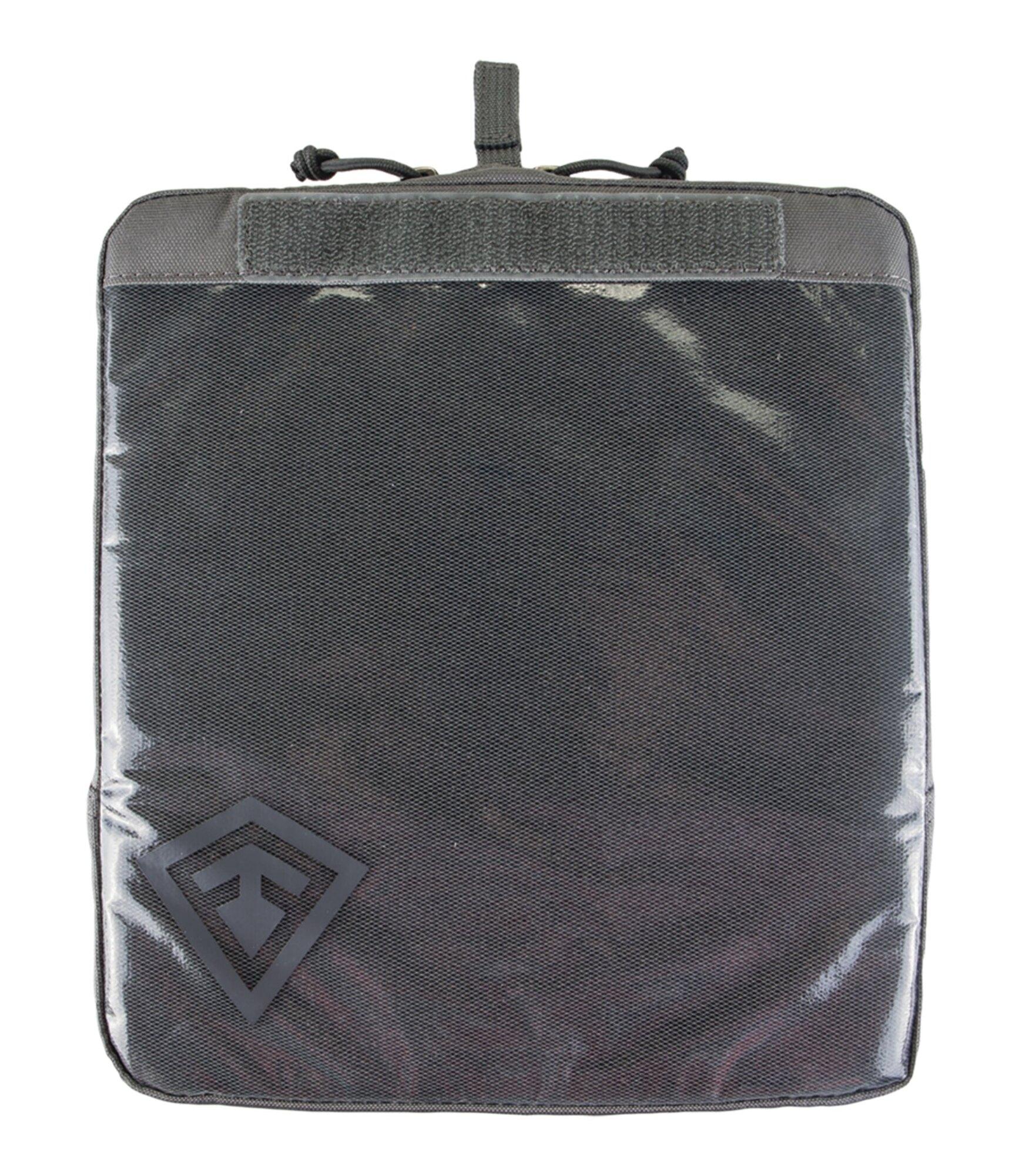 Puzdro Velcro 9x10 First Tactical® - sivé