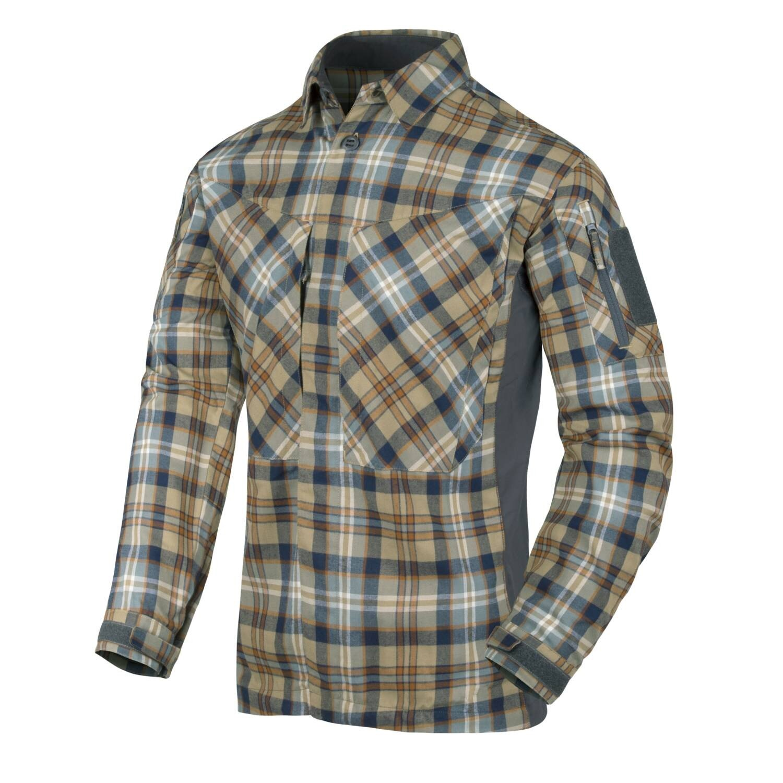 Flanelová košile MBDU Helikon-Tex® - Ginger Plaid (Farba: Hnedá, Veľkosť: 3XL)