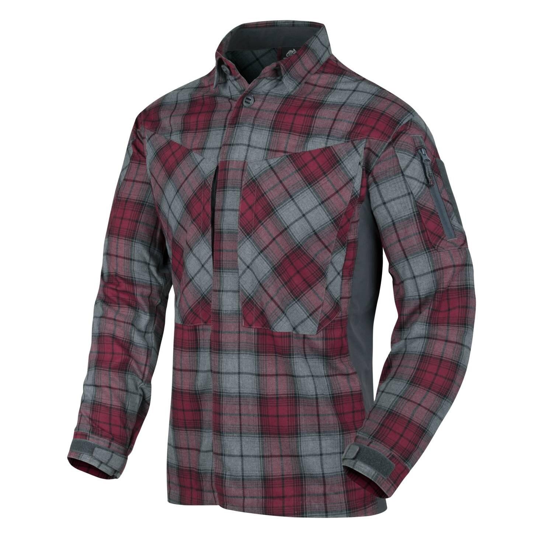 Flanelová košile MBDU Helikon-Tex® - Ruby Plaid (Farba: Červená, Veľkosť: XXL)