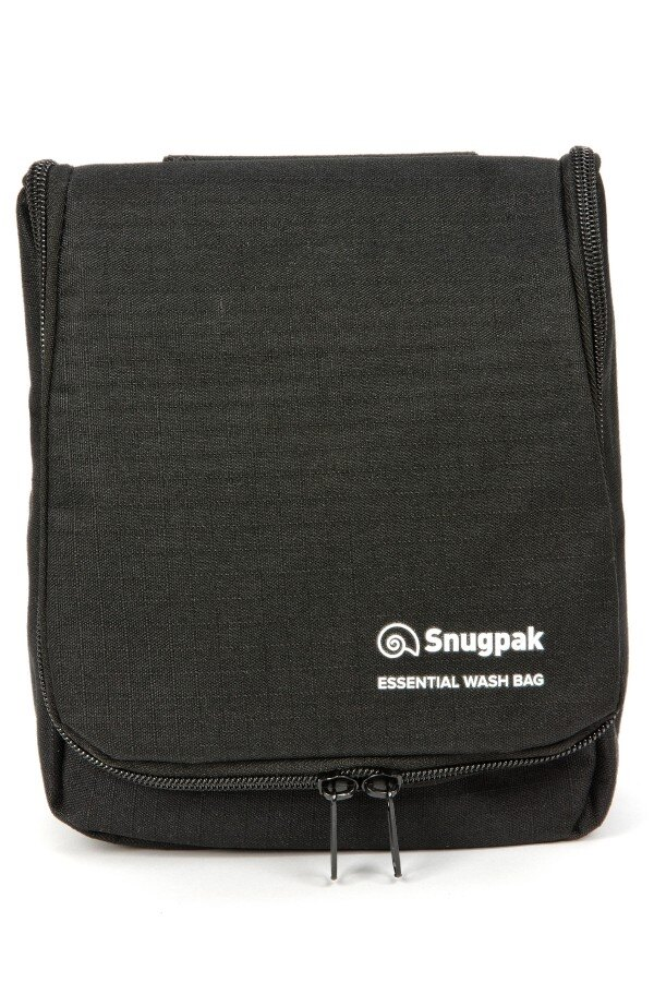 Toaletná taška Essential Wash Snugpak® - čierna (Farba: Čierna)