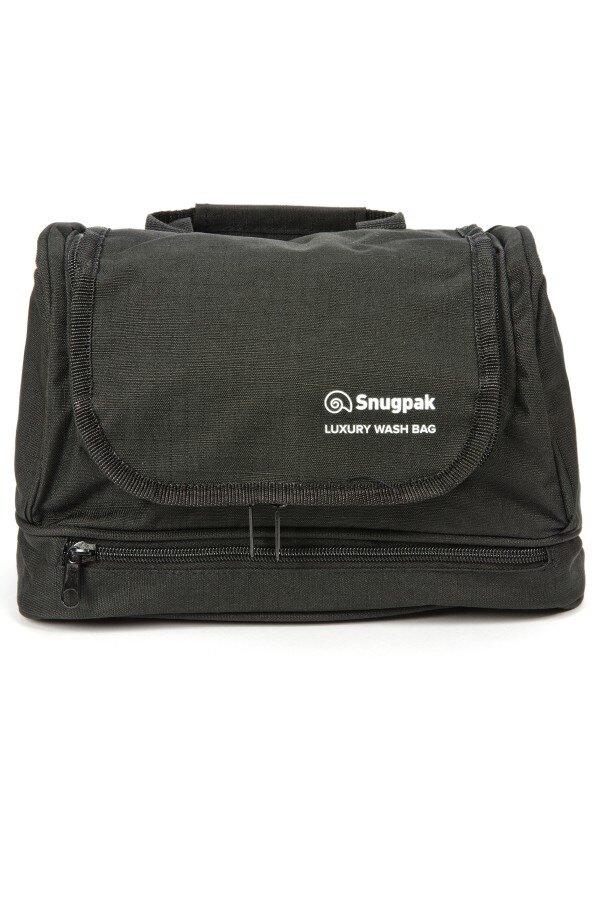 Toaletná taška Luxury Wash Snugpak® - čierna (Farba: Čierna)