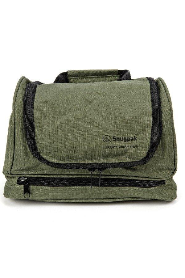 Toaletná taška Luxury Wash Snugpak® - Olive Green (Farba: Olive Green )