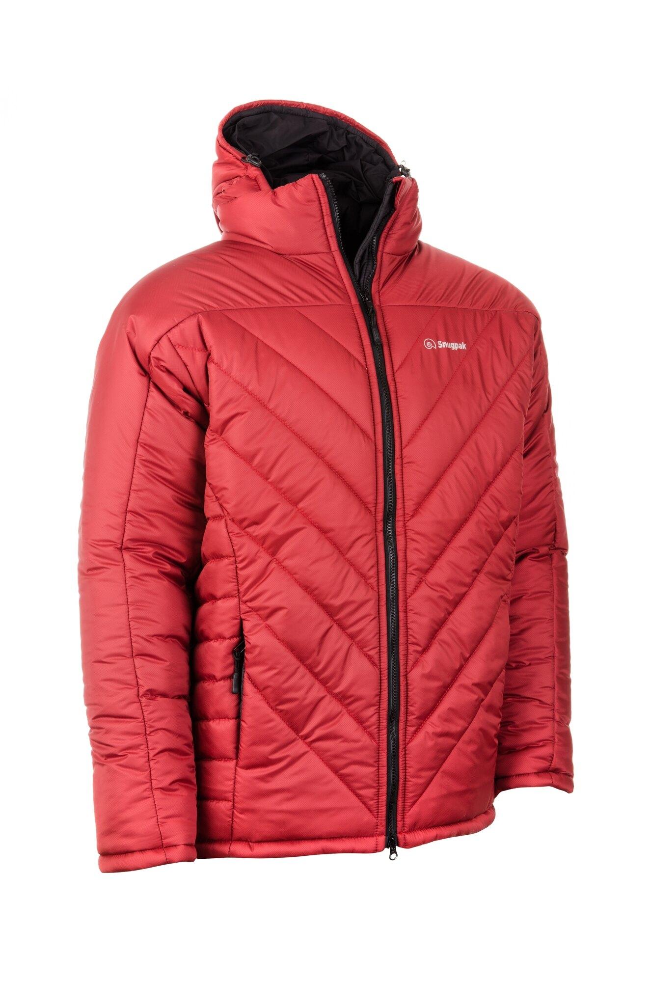 Bunda Insulated SJ12 Snugpak® – Červená (Farba: Červená, Veľkosť: XXL)