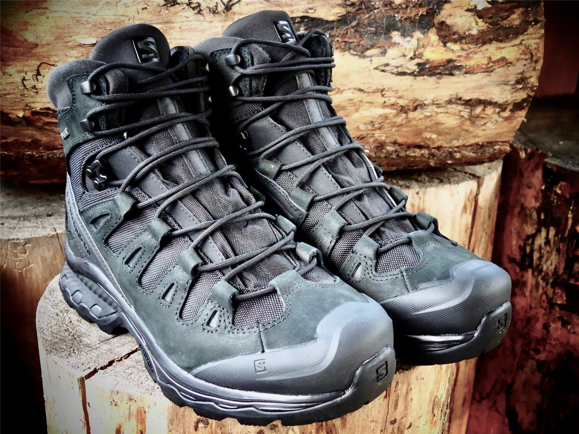 Topánky Quest 4D GTX Forces 2 EN – Čierna (Farba: Čierna, Veľkosť: 5)
